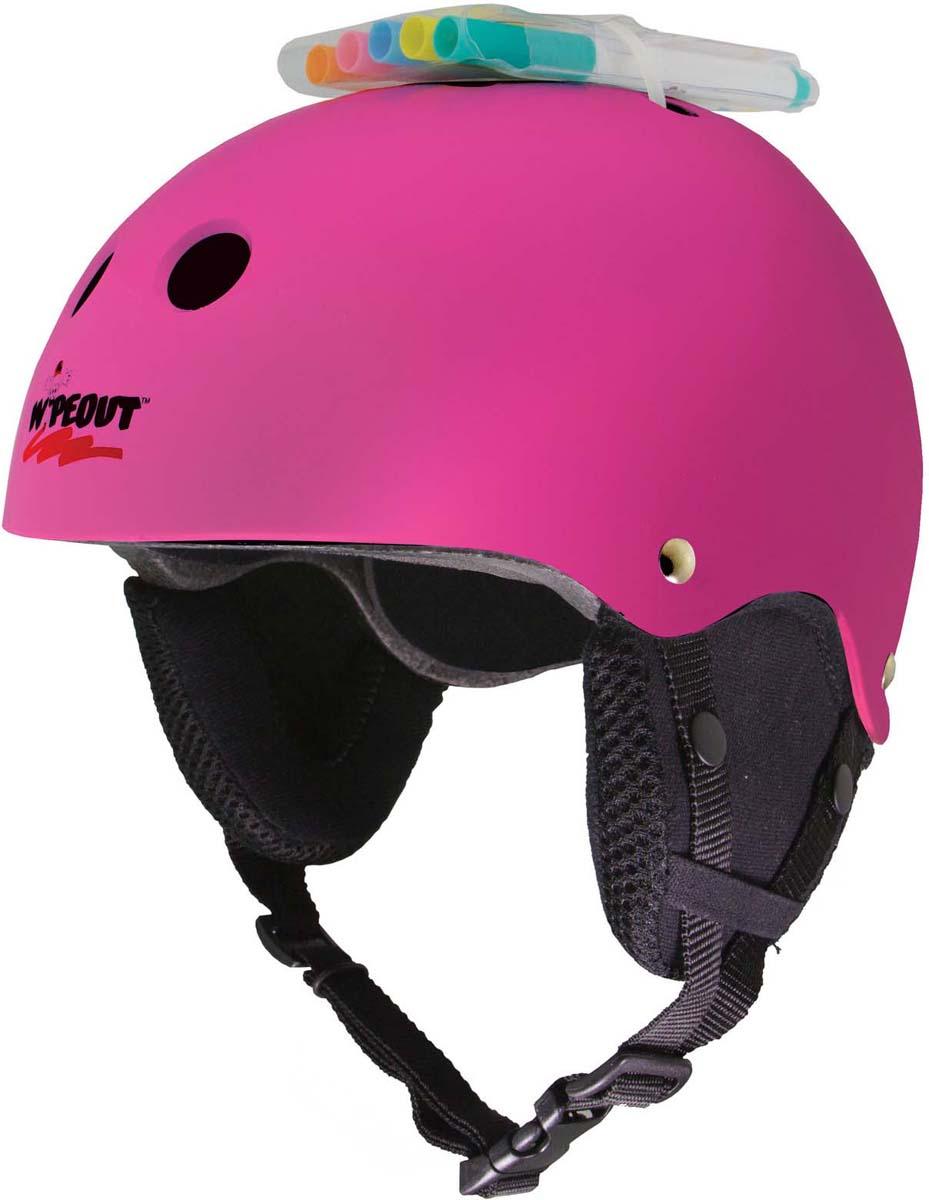 Зимний шлем Wipeout, с фломастерами, цвет: розовый. Размер L (8+) wipeout зимний защитный шлем wipeout neon pink с фломастерами