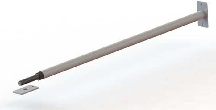 Турник в дверной проем СпектрСпорт Прогресс 7, резьбовой, 135-145 см, цвет: белый турник на дверной проем ruges чемпион длина 94 см