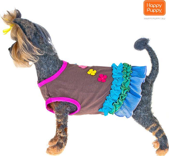 """Платье для собак Happy Puppy """"Софи"""", для девочки. Размер 2 (M)"""