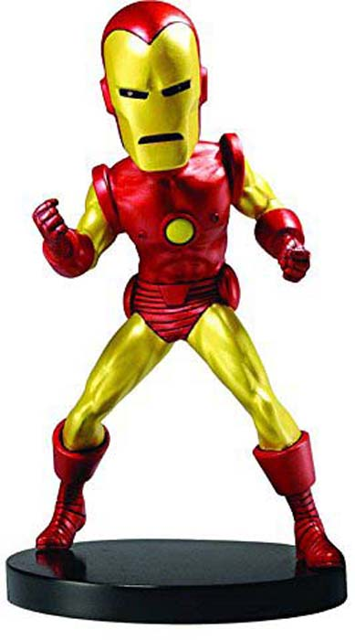 Neca Фигурка Head Knocker Marvel Classic Iron Man 20 см