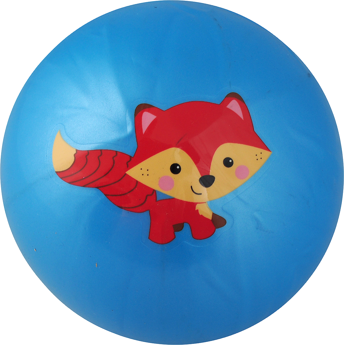 Играем вместе Мяч Лисенок 23 см AD-9