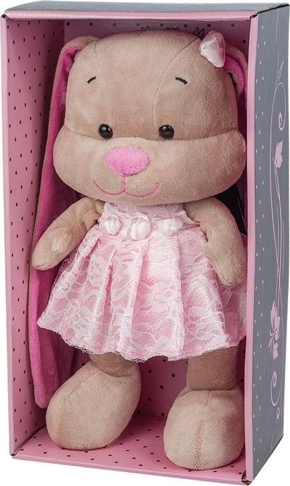 Jack & Lin Мягкая игрушка Зайка в розовом платье 25 см футболка lin show 367