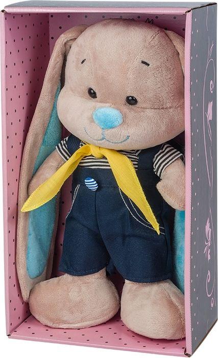 Jack & Lin Мягкая игрушка Зайчик в морском костюмчике 25 см футболка lin show 367