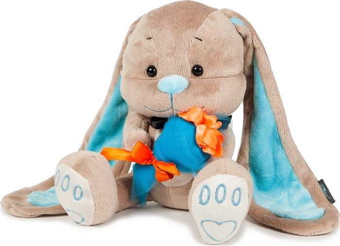 Jack & Lin Мягкая игрушка Зайчик с букетом 25 см блузка lin show 8898