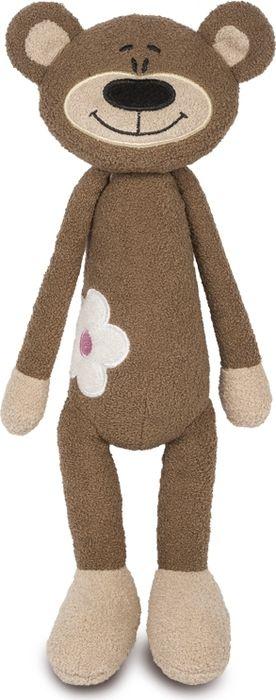 Maxitoys Luxury Мягкая игрушка Медвежонок с цветочком luxury stand flip