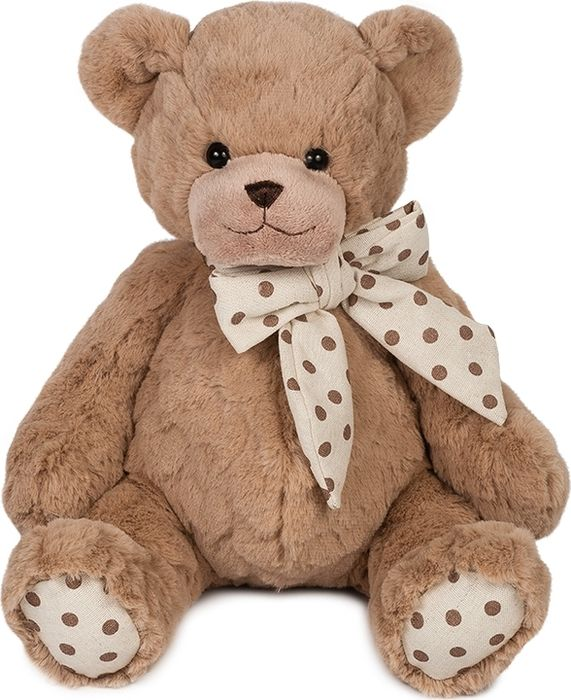 Maxitoys Luxury Мягкая игрушка Мишка Брауни 35 см игрушка мягкая мишка малышка