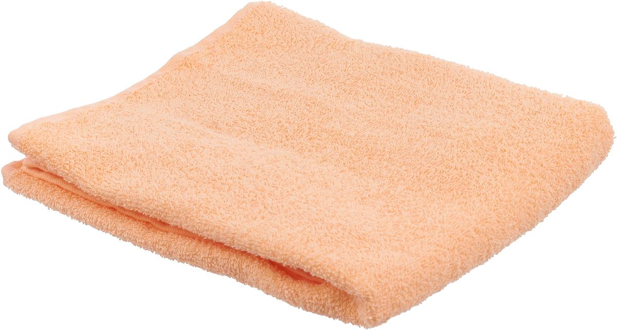 Полотенце банное Павлина, цвет: абрикосовый, 90 х 50 см blenda g kurusu малиновый полотенце банное