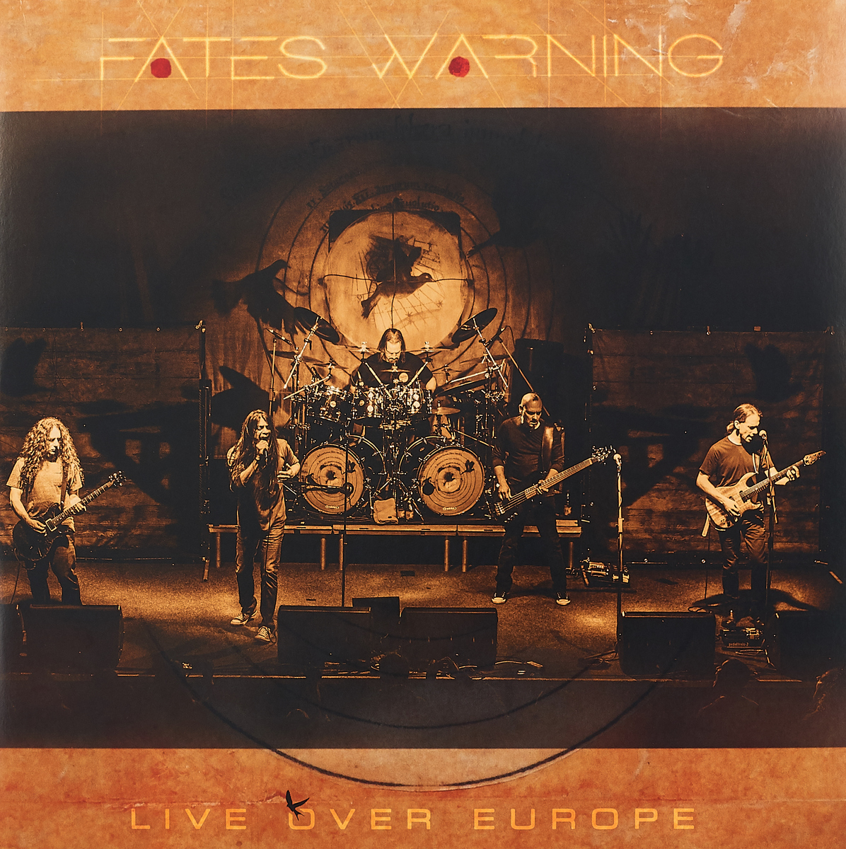 Fates Warning Fates Warning. Live Over Europe (3 LP+2 CD) fates and furies