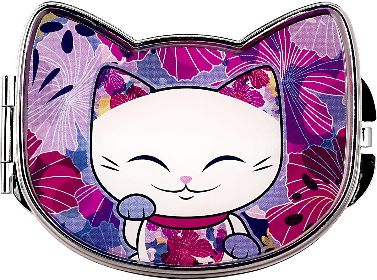 "Фото Зеркало карманное Mani The Lucky Cat ""Кот Удачи"". Код MF086"