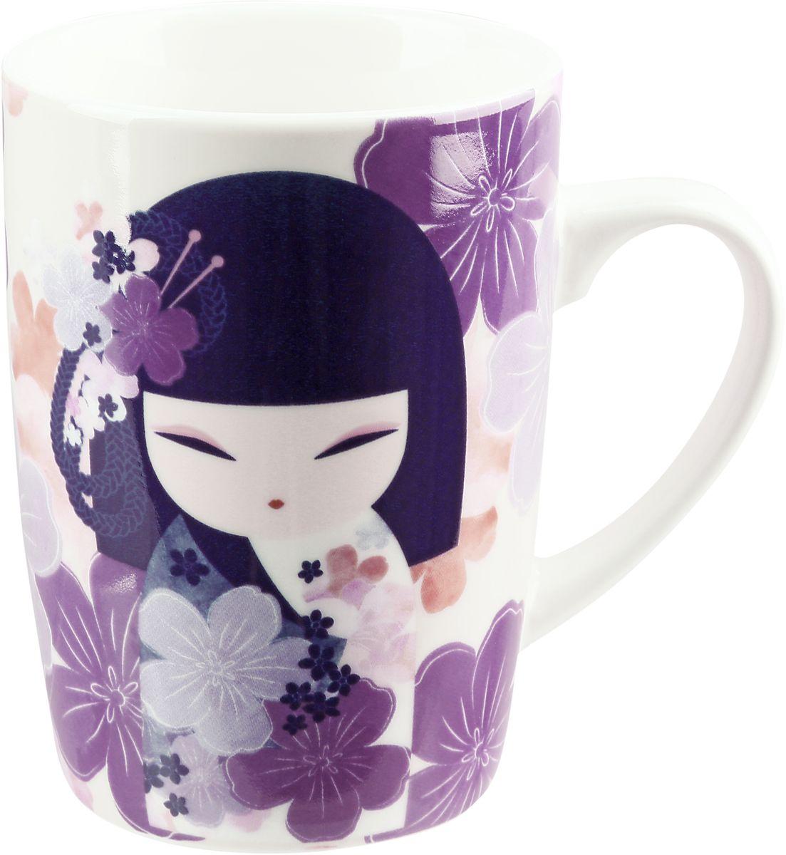 Элегантная фарфоровая кружка , которая оформлена в традиционном японском стиле. Понравится всем ценителям прекрасного.