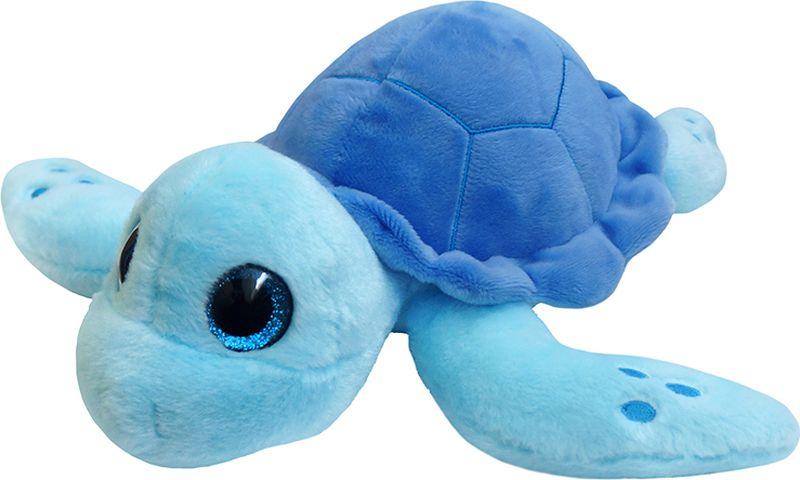 Maxitoys Luxury Мягкая игрушка Черепаха цвет синий 22 см maxitoys игрушка антистресс собака пятнышко