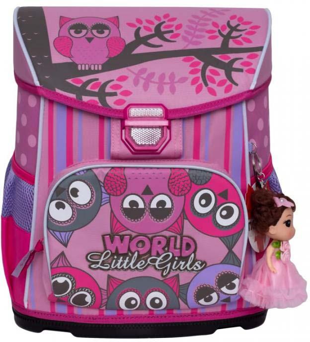 Grizzly Рюкзак школьный с мешком цвет розовый RA-875-2/2 grizzly рюкзак школьный с мешком цвет розовый ra 879 8