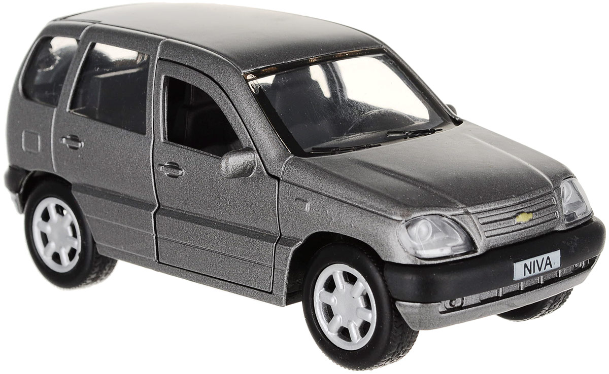 ТехноПарк Машинка инерционная Chevrolet Niva CHEVY-NIVA-MIX машинки технопарк машина технопарк металлическая инерционная chevrolet camaro