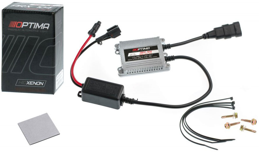 Купить Блок розжига Optima Base Slim , 35W, 9-16V. ARX-104-12