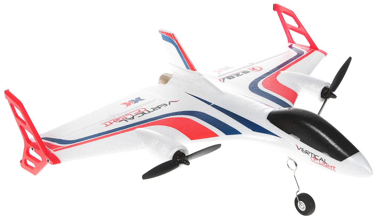 Wltoys Самолет на радиоуправлении X520-W с камерой Wi-Fi цвет белый pilotage самолет на радиоуправлении super cub rtf