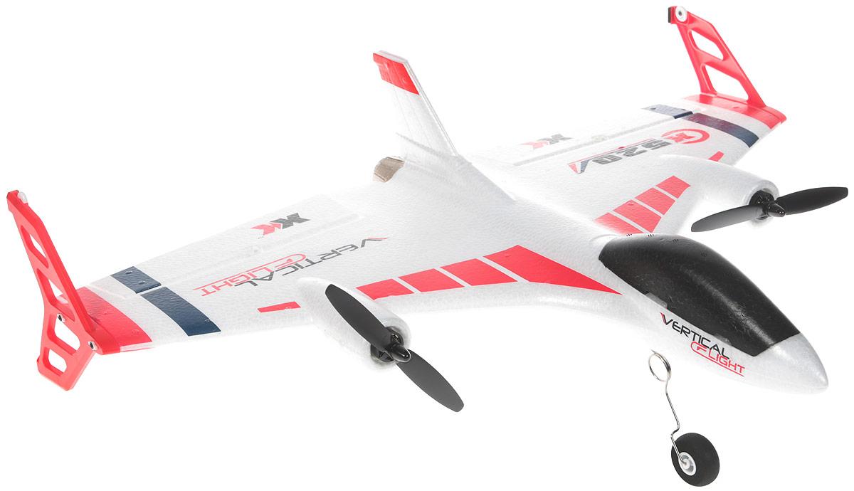 Wltoys Самолет на радиоуправлении X520 цвет белый игрушка wltoys f4