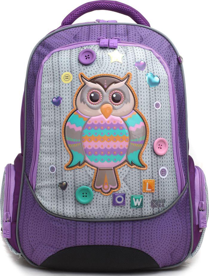 4ALL Ранец школьный School Сова школьный рюкзак 527 mochila infantil mochilas school bags