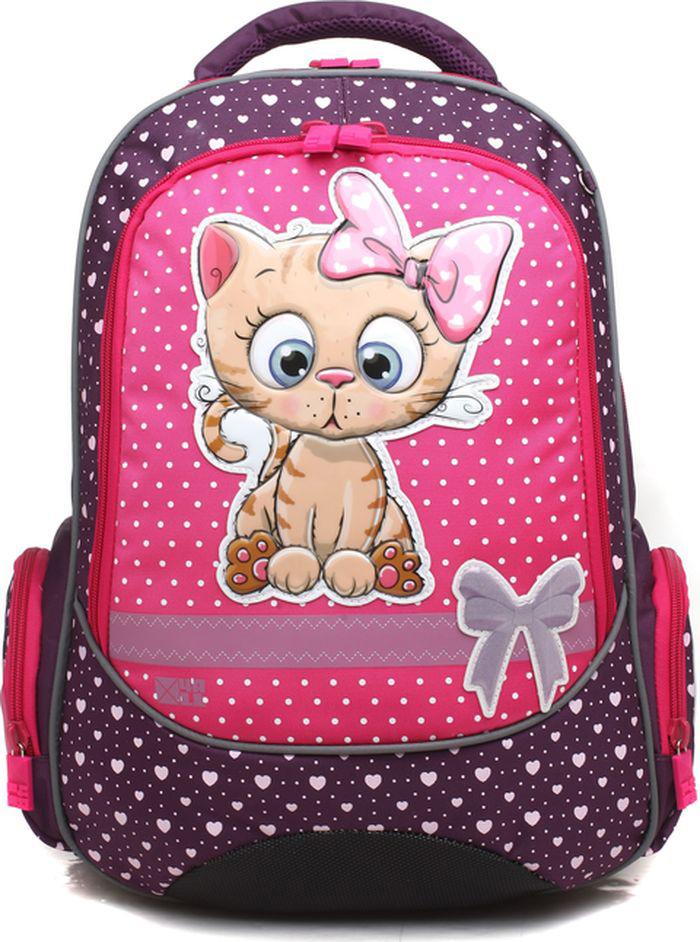 4ALL Ранец школьный School Кот школьный рюкзак 527 mochila infantil mochilas school bags