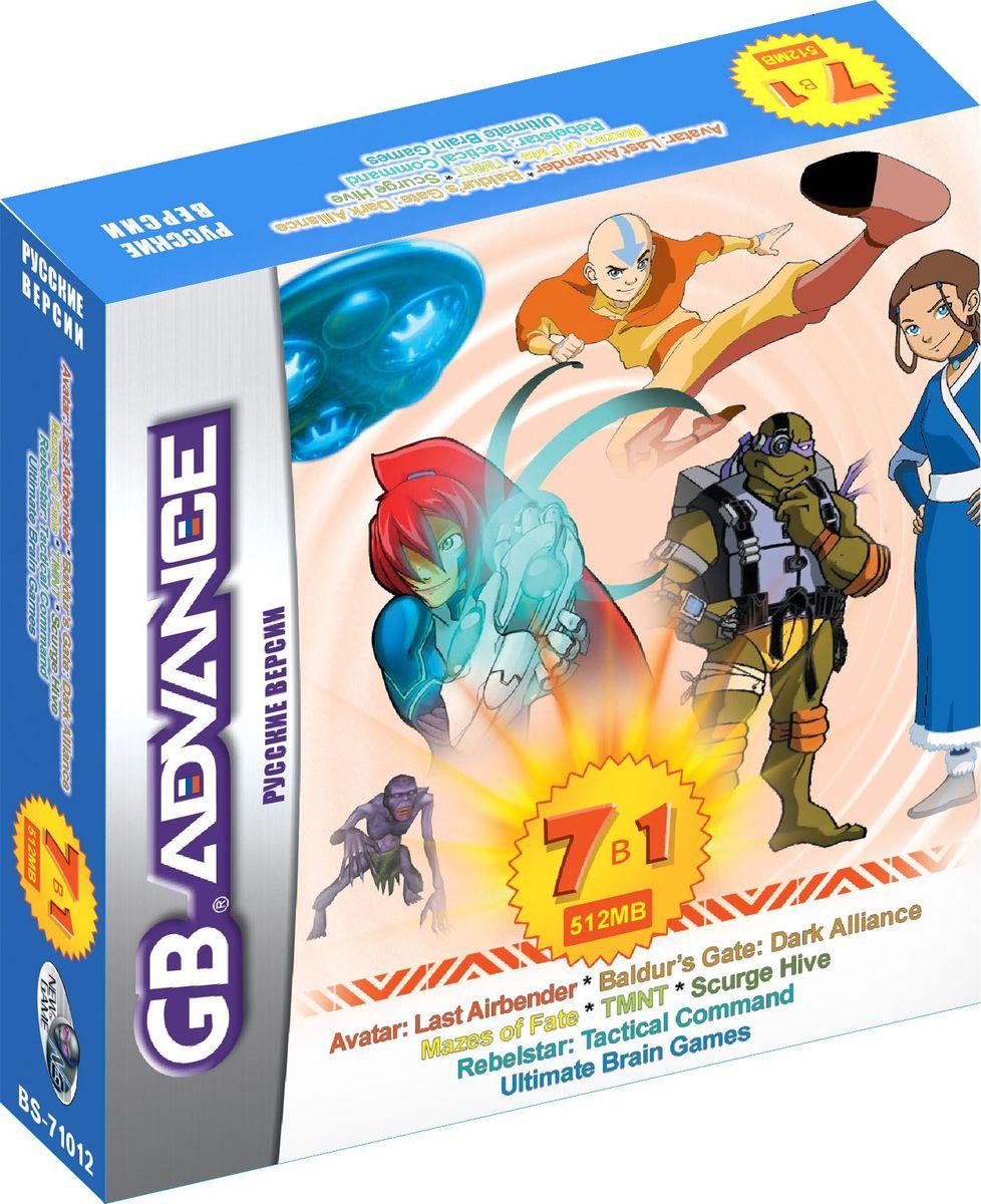 NewGame BS71012 7в1 игровой картридж для GBA