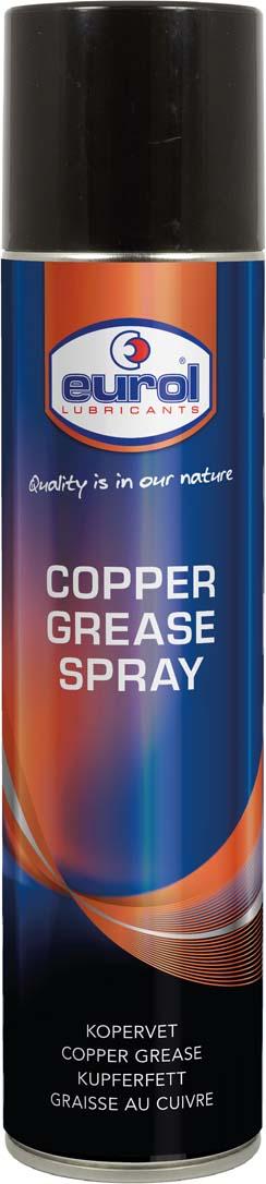Купить Медная смазка аэрозоль Eurol Copper Grease Spray, 400 мл