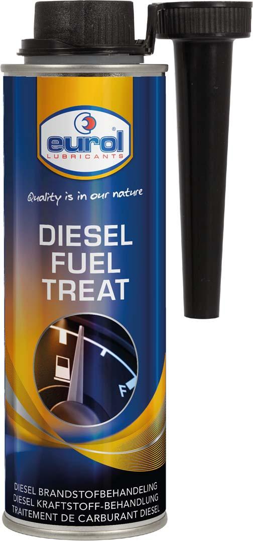 Купить Присадка для защиты топливной ситемы дизельных двигателей Eurol Diesel Fuel Treat, 250 мл