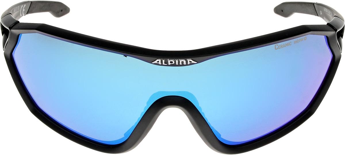 Велосипедные очки Alpina Alpina S-Way Cm+, цвет оправы: черный