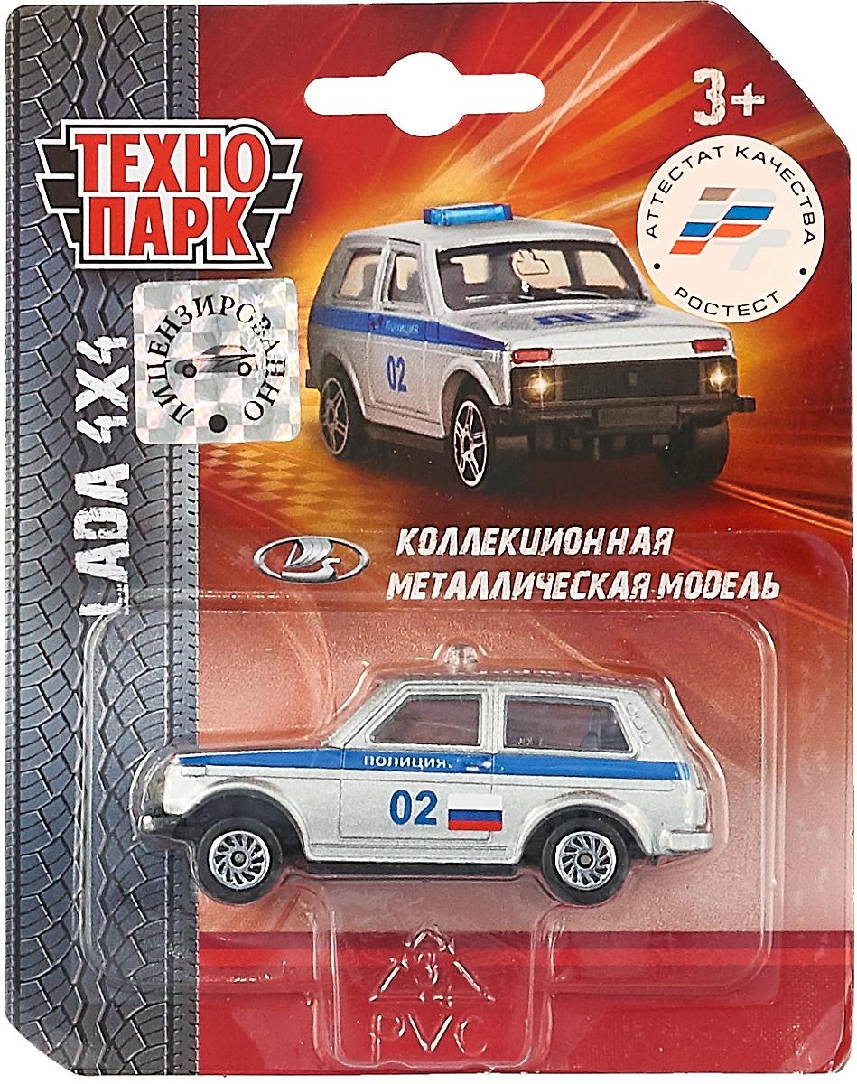ТехноПарк Машинка Lada 4 х 4