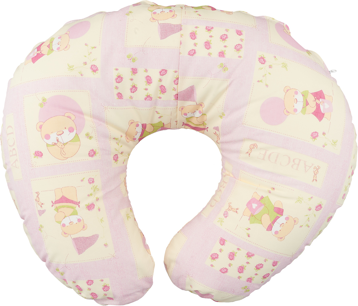Plantex Подушка для кормящих и беременных мам Comfy Small Розовый мишка