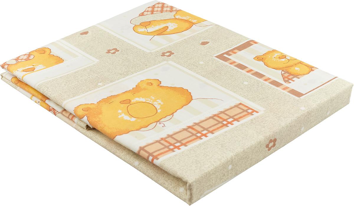 Primavelle Пододеяльник детский Мишка цвет бежевый 115 х 145 см