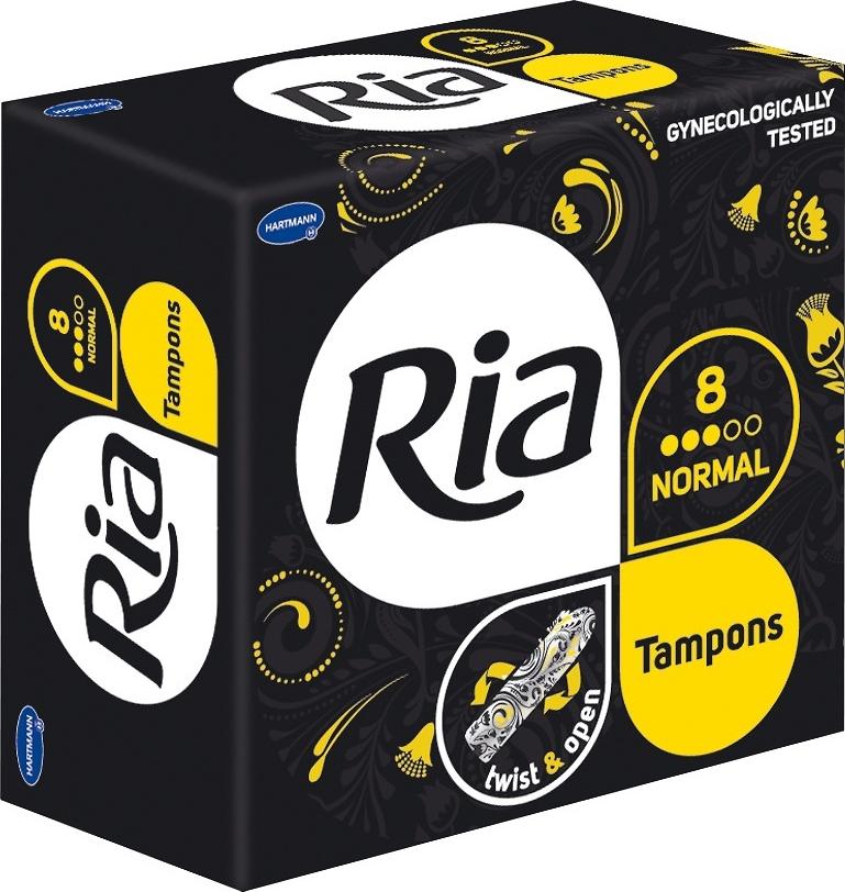 Ria Tampons Женские гигиенические тампоны, Нормал, 8 шт цены