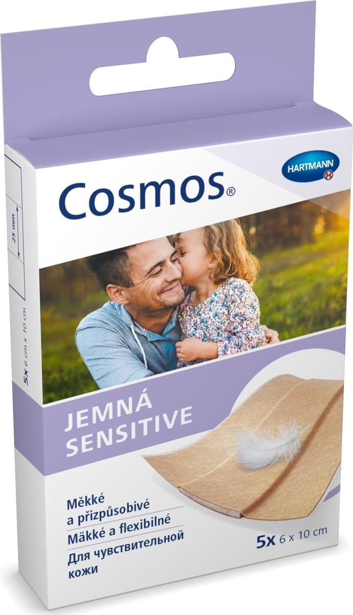 Cosmos Sensitive Пластырь для чувствительной кожи, 6 х 10 см, 5 шт