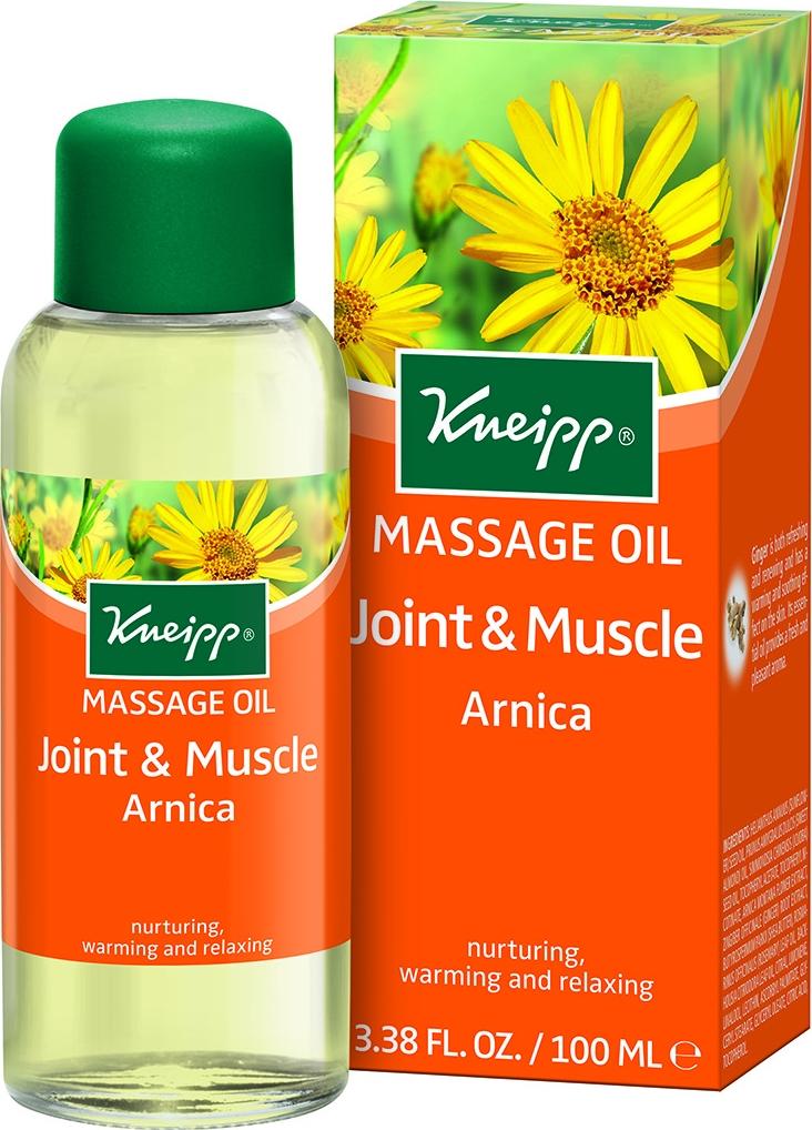 Kneipp Масло для тела с Арникой разогревающее для массажа guam dren масло с дренажным эффектом dren масло с дренажным эффектом