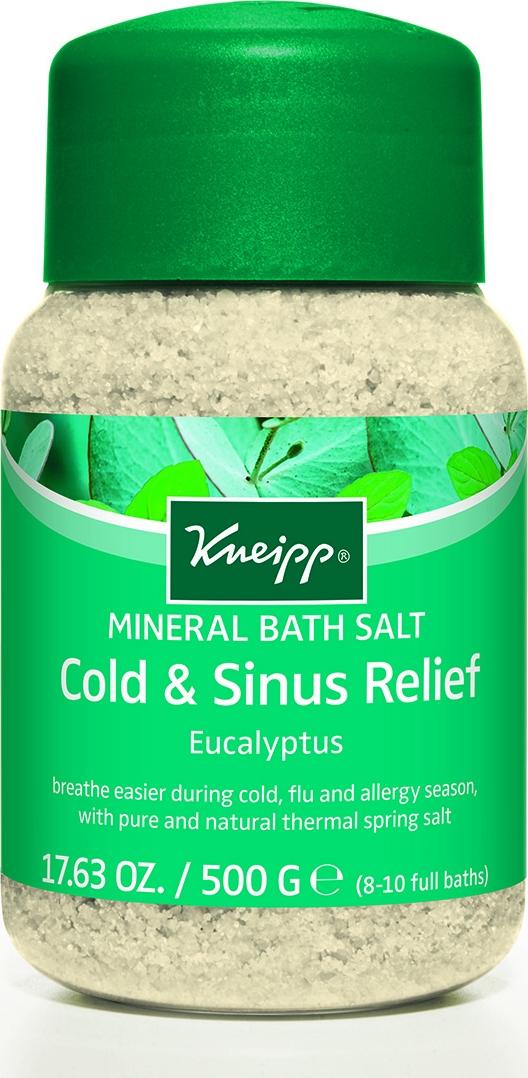 Kneipp Кристаллы для ванн с Эвкалиптом при холодной погоде, 500 г аюрведическое средство от простуды и ангины dabur madhuvaani honitus 150 г