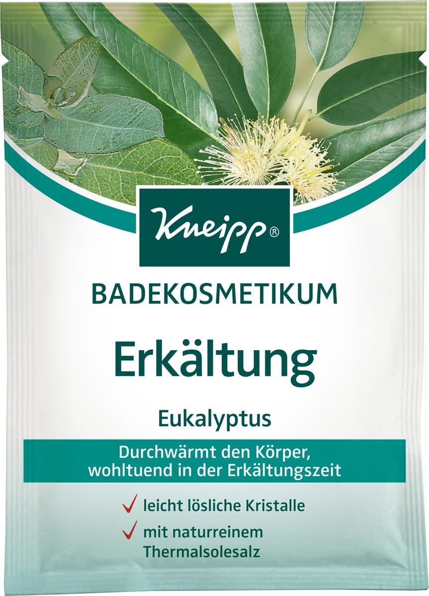 Kneipp Кристаллы для ванн с Эвкалиптом при холодной погоде, 60 г аюрведическое средство от простуды и ангины dabur madhuvaani honitus 150 г