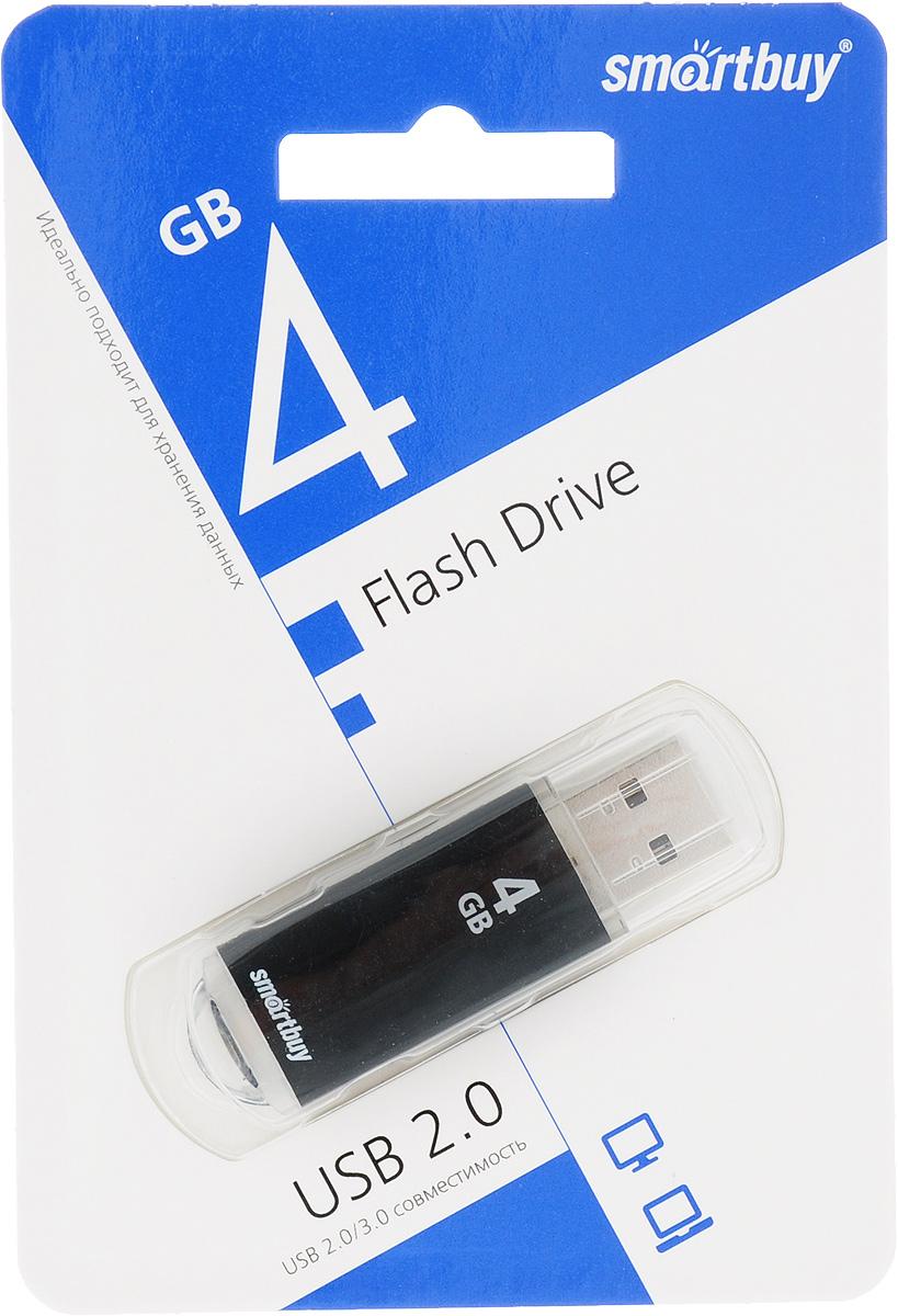 SmartBuy V-Cut 4GB, Black USB-накопитель