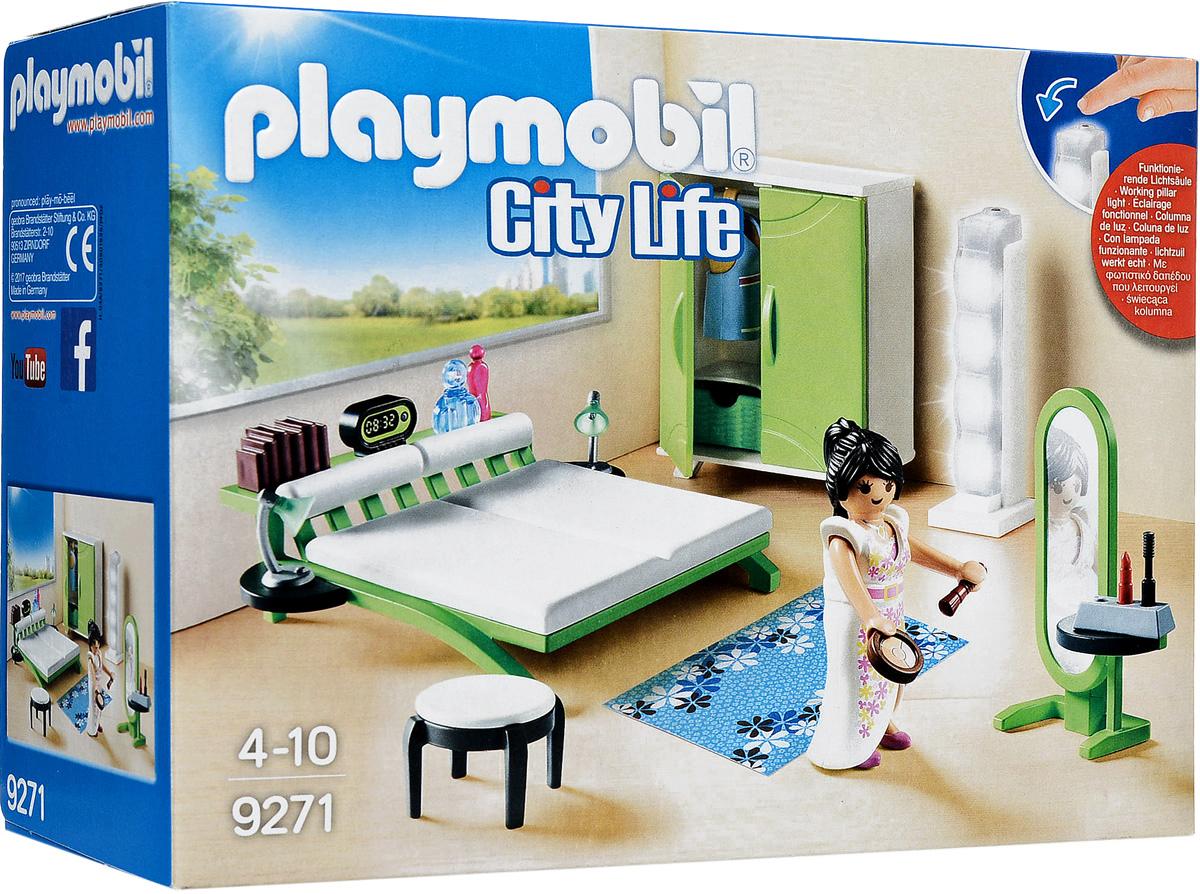 Playmobil Игровой набор Кукольный дом Спальня playmobil игровой набор кукольный дом детская комната для 2 детей