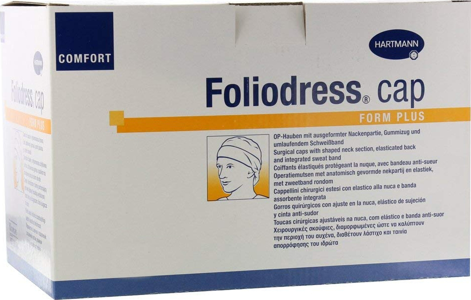 Foliodress Сap Comfort Form Шапочка медицинская, 100 шт