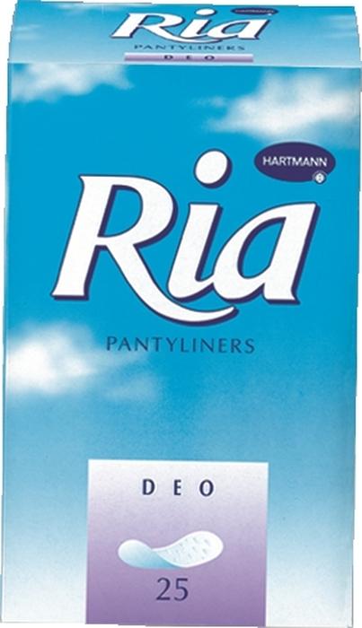 Ria Slip Classic Sanitory Towels Deo Ежедневные прокладки для женщин, 25 шт пелигрин набор медицинского белья из нетканых материалов прокладки для груди 60 шт