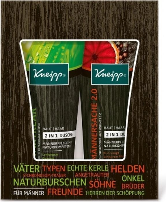 Kneipp Подарочный набор для мужчин с двумя гелями для душа и шампунями 2 в 1, Paul Hartmann