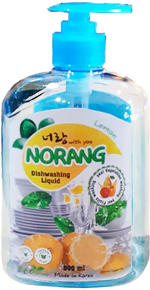 """Фото Жидкость для мытья посуды Norang """"Dishwashing Liquid. Lemon (Лимон)"""", 500 мл"""
