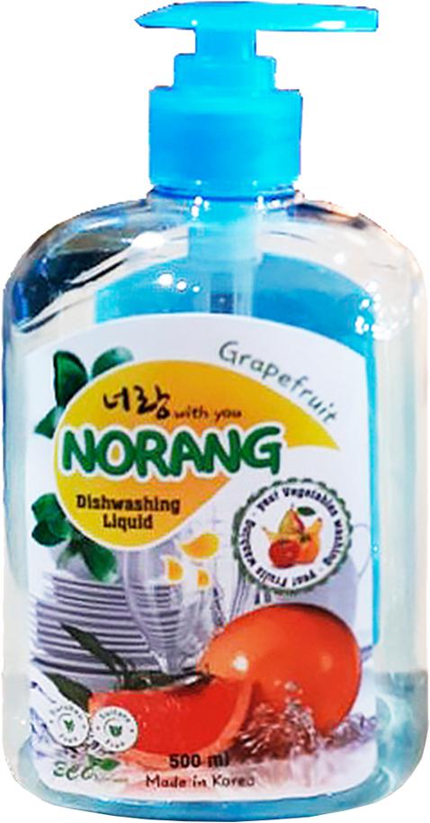 Жидкость для мытья посуды Norang Dishwashing Liquid. Grapefruit (Грейпфрут), 500 мл