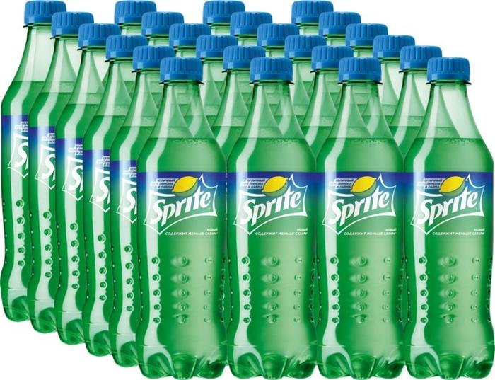 Sprite напиток сильногазированный 24 штуки по 0,5 л крюшон напиток безалкогольный сильногазированный 1 л