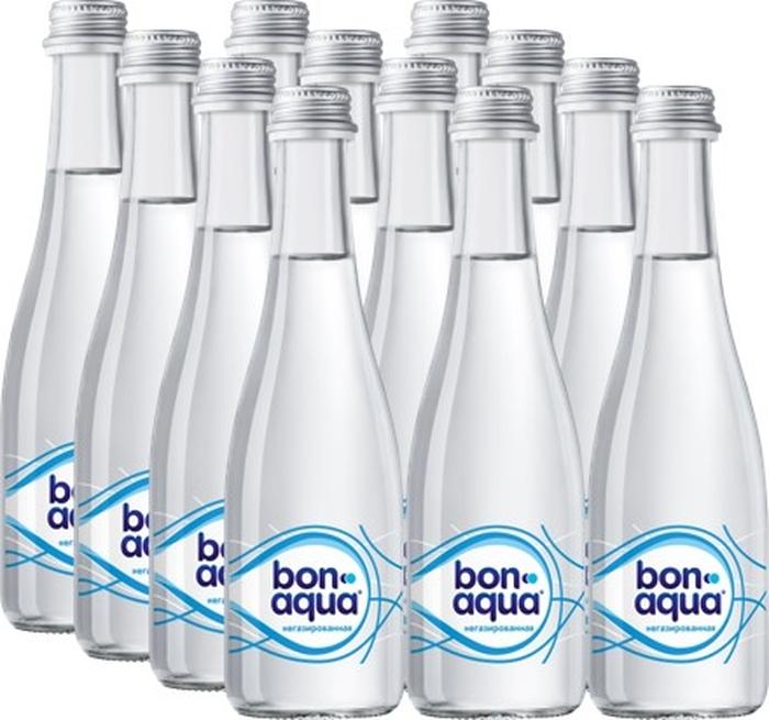 BonAqua вода чистая питьевая негазированная 12 штук по 0,33 л aqua minerale вода питьевая негазированная 6 штук по 2 л
