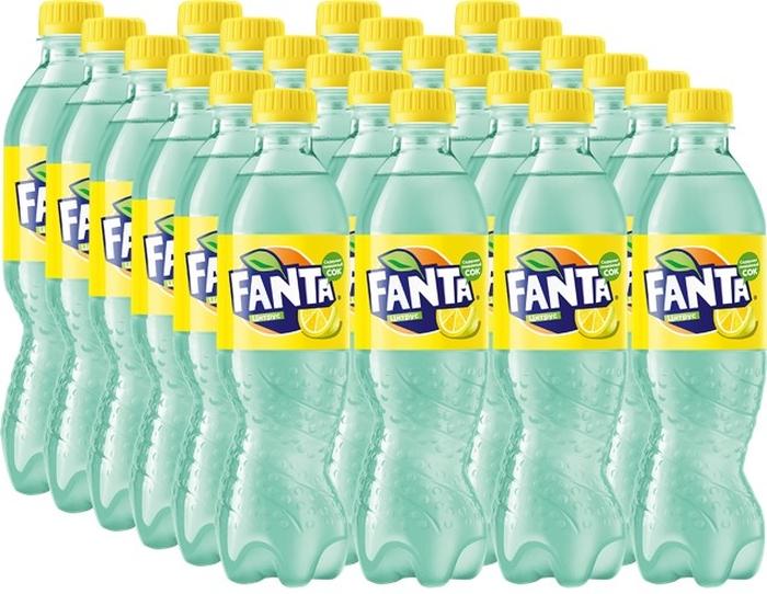 Fanta Цитрус напиток сильногазированный 24 штуки по 0,5 л энергетические добавки арена углеводный гель арена первая со вкусом ананаса 24 штуки в упаковке