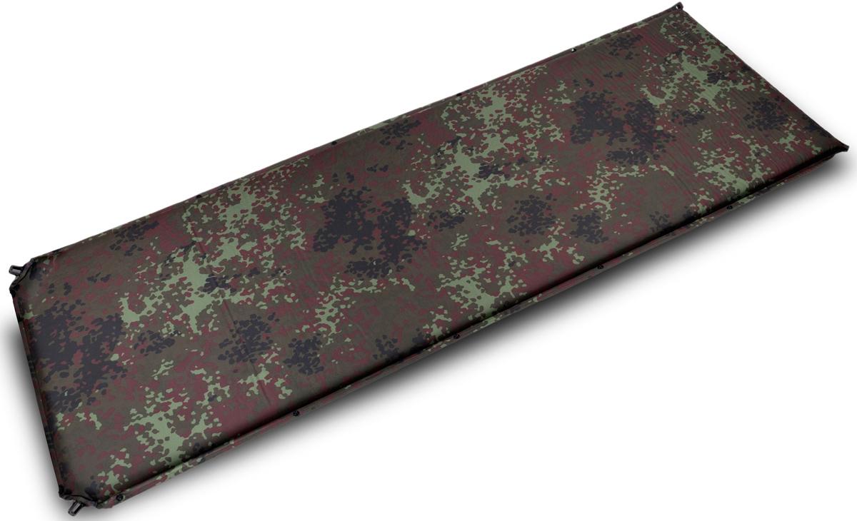 Коврик самонадувающийся Talberg Forest Big Mat, цвет: зеленый, коричневый, черный, 190 х 66 см