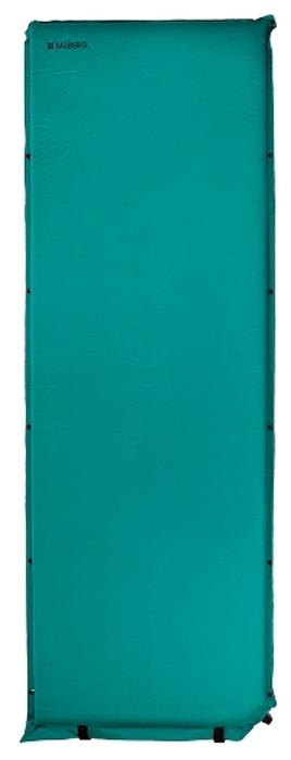 Коврик самонадувающийся Talberg Comfort Mat, цвет: зеленый, черный, 188 х 66 см