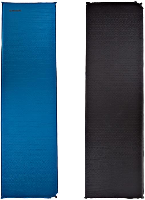 Коврик самонадувающийся Talberg Light Mat, цвет: синий, черный, 183 х 51 см коврик самонадувающийся trek planet active 38 цвет синий 183 х 51 х 3 8 см