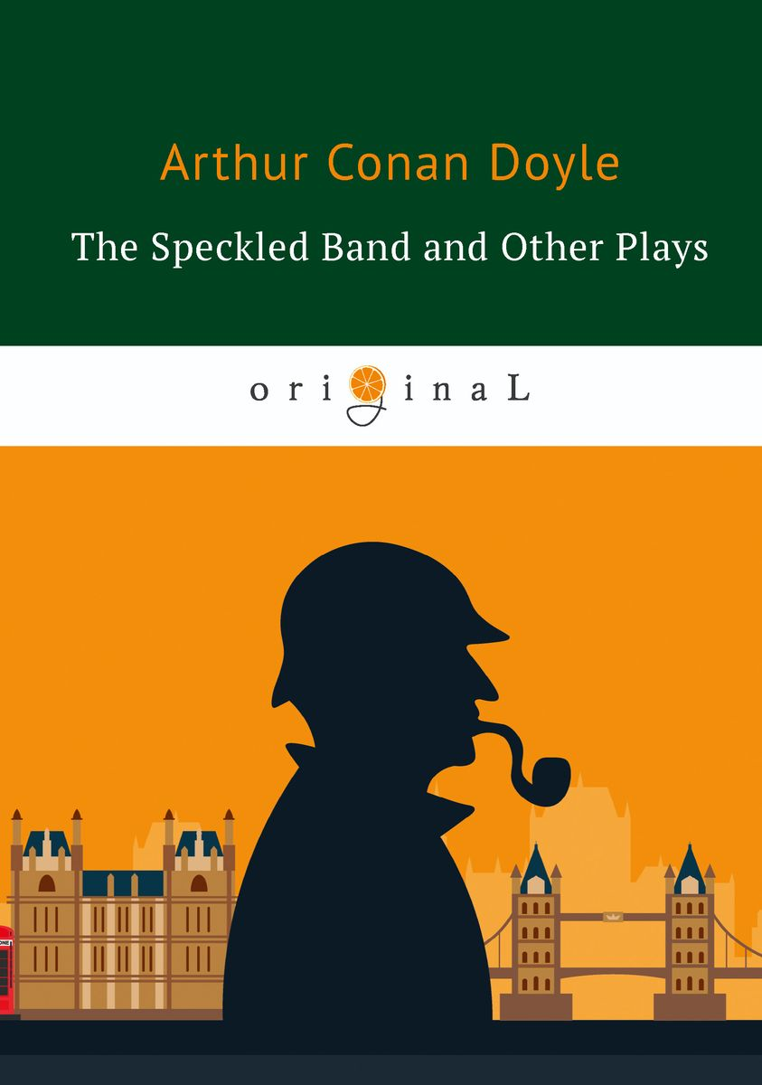 Doyle A.C. The Speckled Band and Other Plays ISBN: 978-5-521-07183-8 han edition of the new hair headwear pearl diamond hair hoop winding head band