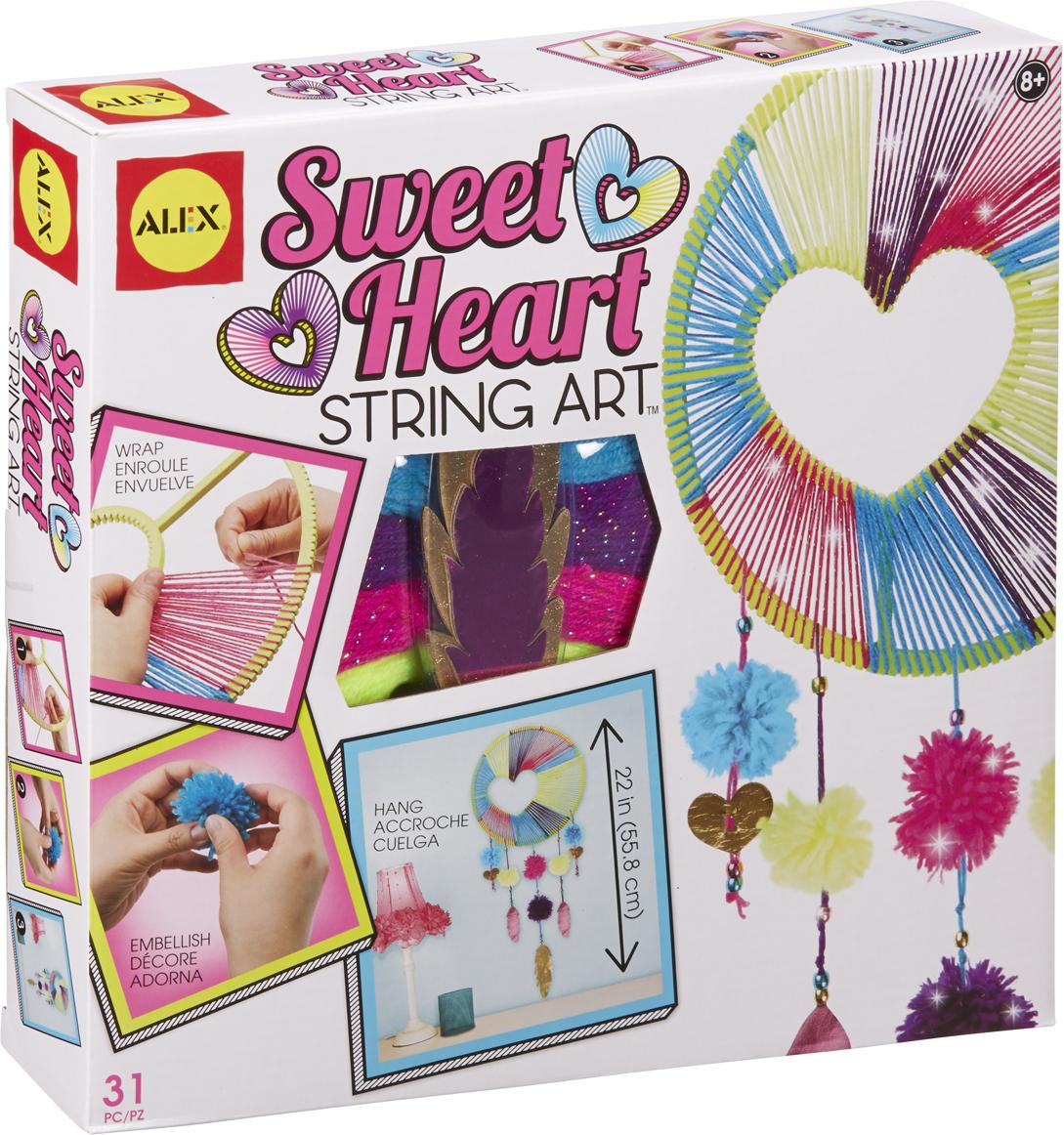 Alex Набор для изготовления игрушек Ловец снов alex alex набор для творчества сделай сам браслеты фенечки бро