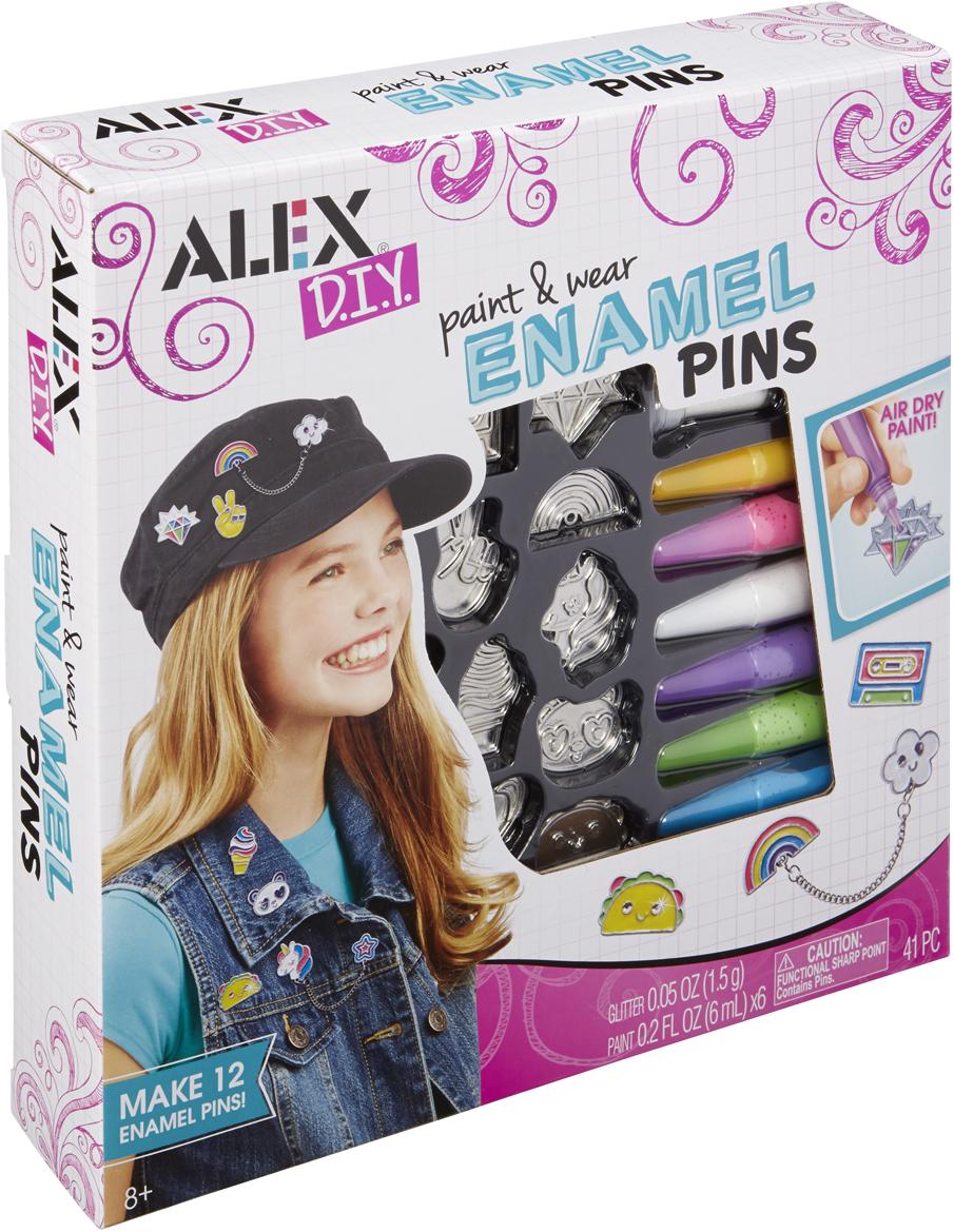 Alex Набор для изготовления игрушек Разноцветные значки alex toys набор игрушек для ванной уточки 3 шт